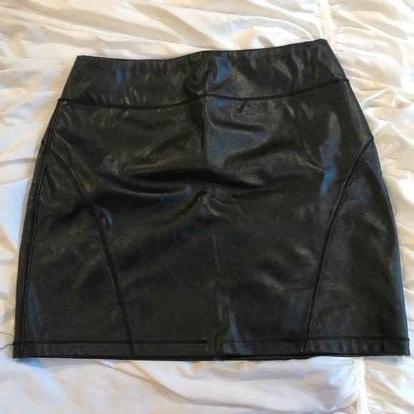 Express Dresses & Skirts - Leather Mini Skirt